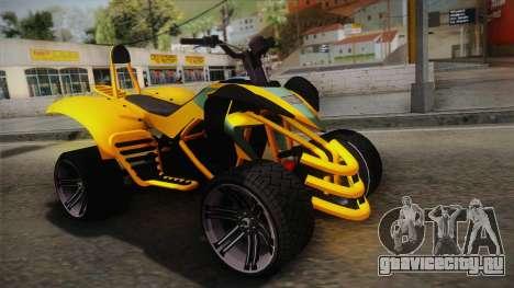 GTA 5 Nagasaki Blazer для GTA San Andreas
