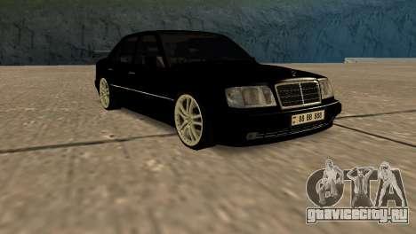 Mersedes-Benz E500 W124 Armenia для GTA San Andreas