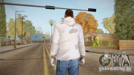 Зимний худи для GTA San Andreas второй скриншот
