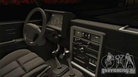Nissan Safari Y60 для GTA San Andreas вид сбоку