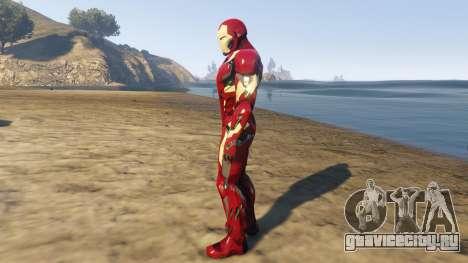 Iron Man Mark 46 для GTA 5 второй скриншот