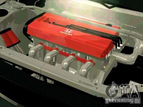 Honda CIVIK FERIO RR для GTA San Andreas вид сбоку