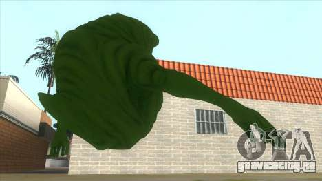 Slimer From Ghostbusters для GTA San Andreas вид справа