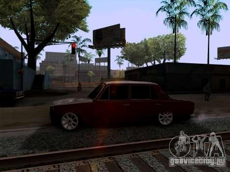ВАЗ 2101 Снежная версия BPAN для GTA San Andreas вид слева