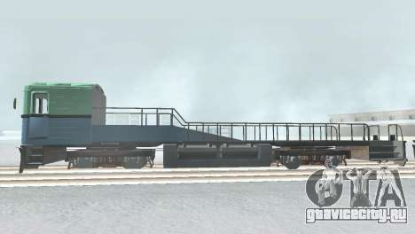 Вагон типа ЕмаЭГ 81-502 0002 для GTA San Andreas вид справа