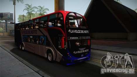 Metalsur Starbus II для GTA San Andreas вид справа