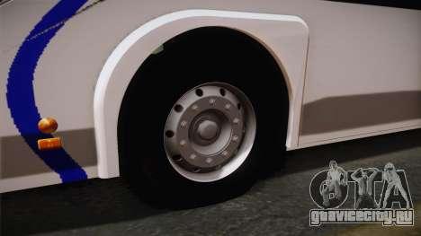 Metalsur Starbus II для GTA San Andreas вид сзади
