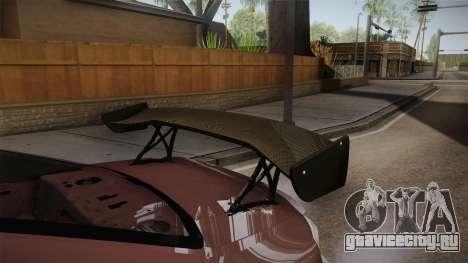 Nissan Silvia S15 D-Max Kit для GTA San Andreas вид сбоку