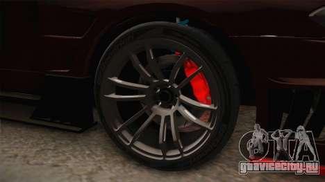 Nissan Silvia S15 D-Max Kit для GTA San Andreas вид сзади