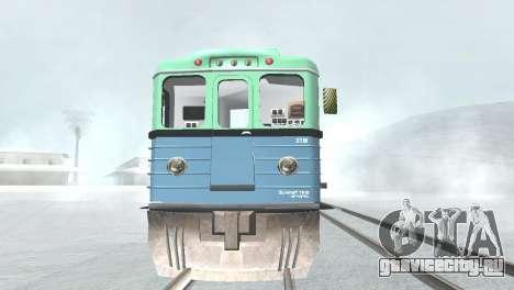 Вагон типа ЕмаЭГ 81-502 0002 для GTA San Andreas вид сбоку