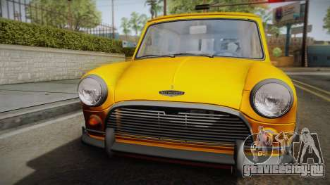 Mini Cooper S 1965 Lowered для GTA San Andreas вид справа