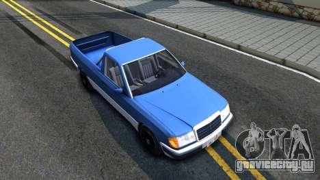 Mercedes-Benz W124 Pickup для GTA San Andreas вид справа