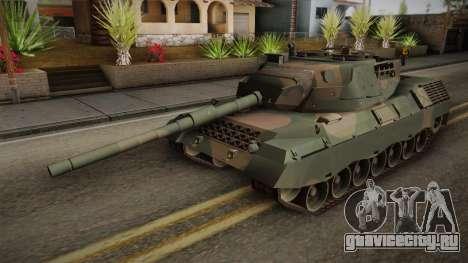 Leopard 1A5 Brazilian Army для GTA San Andreas