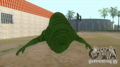 Slimer From Ghostbusters для GTA San Andreas вид сзади слева