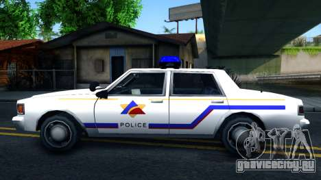 Vapid Stanier Hometown Police Department 1999 для GTA San Andreas вид слева