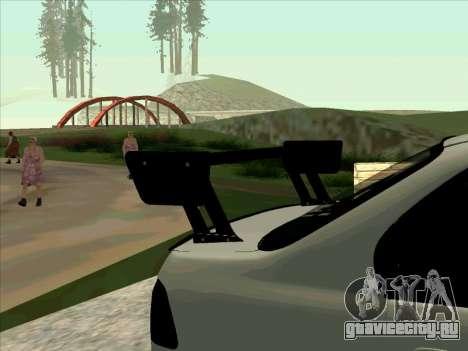 Honda CIVIK FERIO RR для GTA San Andreas вид изнутри