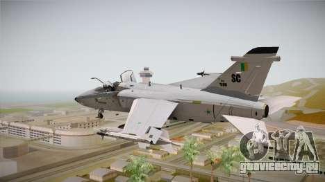 EMB Embraer A-1 AMX FAB для GTA San Andreas вид справа