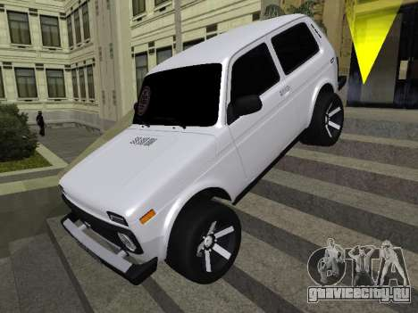 Niva 2121 Аrmenian для GTA San Andreas двигатель
