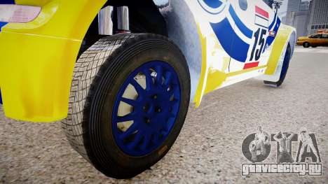 Opel Corsa «Yes, of Corsa» для GTA 4 вид сзади