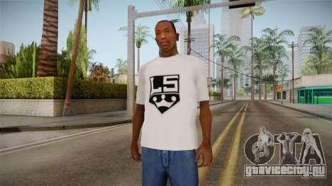 Белая футболка с брендом W.C. Choppers для GTA San Andreas