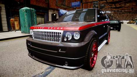 Huntley Range Rover Sport для GTA 4