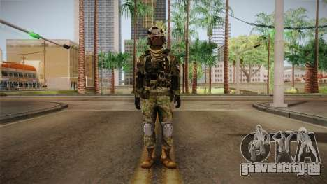 Multitarn Camo Soldier v3 для GTA San Andreas