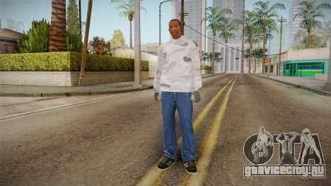 Зимний худи для GTA San Andreas третий скриншот