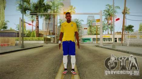 PES2016 - Neymar для GTA San Andreas второй скриншот