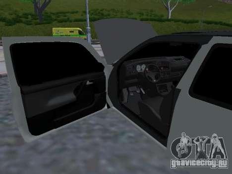 Volkswagen Golf 3 Armenian для GTA San Andreas вид снизу