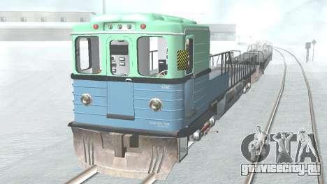 Вагон типа ЕмаЭГ 81-502 0002 для GTA San Andreas