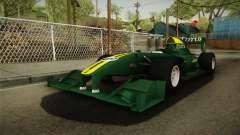 F1 Lotus T125 2011 v4 для GTA San Andreas