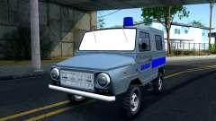 ЛуАЗ 969М Милиция для GTA San Andreas