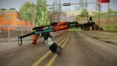 AK47 SU Wingshould для GTA San Andreas