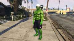 The Hulk human eyes для GTA 5