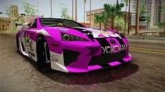 Lexus LFA Emilia The Purple of ReZero для GTA San Andreas