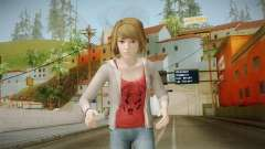 Life Is Strange - Max Caulfield Red Shirt v2 для GTA San Andreas