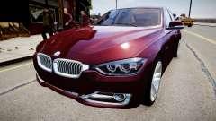 BMW 335i 2013 для GTA 4