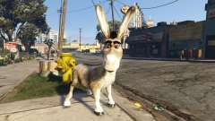 Donkey form Shrek для GTA 5