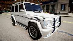 Mercedes-Benz G55 AMG v2 для GTA 4
