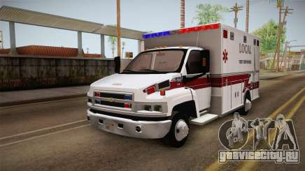 Chevrolet C4500 2008 Ambulance для GTA San Andreas