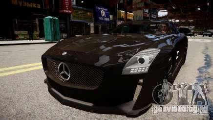 Mercedes Benz SLS Threep Edition для GTA 4
