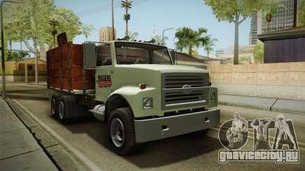 GTA 5 Vapid Scrap Truck Cleaner v2 IVF для GTA San Andreas