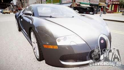 Bugatti Veyron 16.4 v1.7 для GTA 4