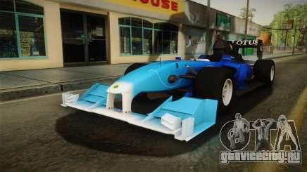 F1 Lotus T125 2011 v2 для GTA San Andreas