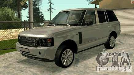 Range Rover Sport 2008 для GTA San Andreas