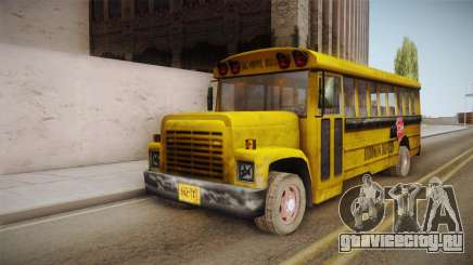 Driver Parallel Lines - School Bus для GTA San Andreas