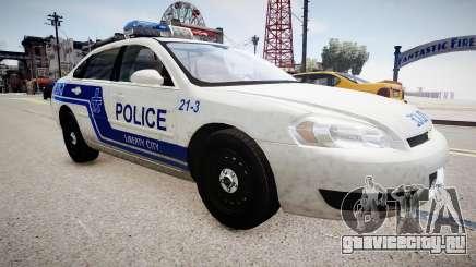 Chevrolet Impala Police для GTA 4