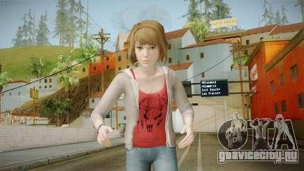 Life Is Strange - Max Caulfield Red Shirt v2 для GTA San Andreas