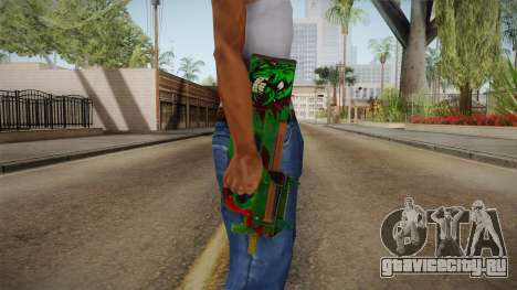 Vindi Halloween Weapon 7 для GTA San Andreas третий скриншот
