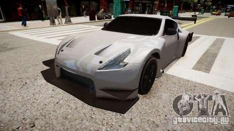 Nissan 370Z Sport для GTA 4 вид справа